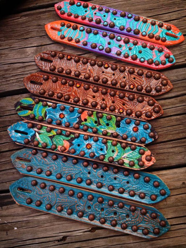 Custom Spur Straps by The Cowboy Junkie