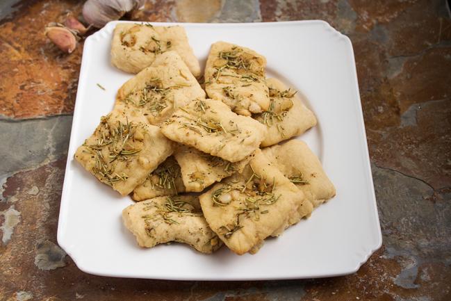Rosemary Garlic Flat Bread