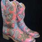 Kippy Buffalo Rose Cowboy Boots
