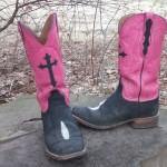 My Black Jack Cowboy Boots