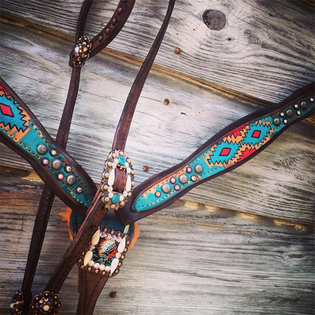 Apache Tack Set by The Cowboy Junkie