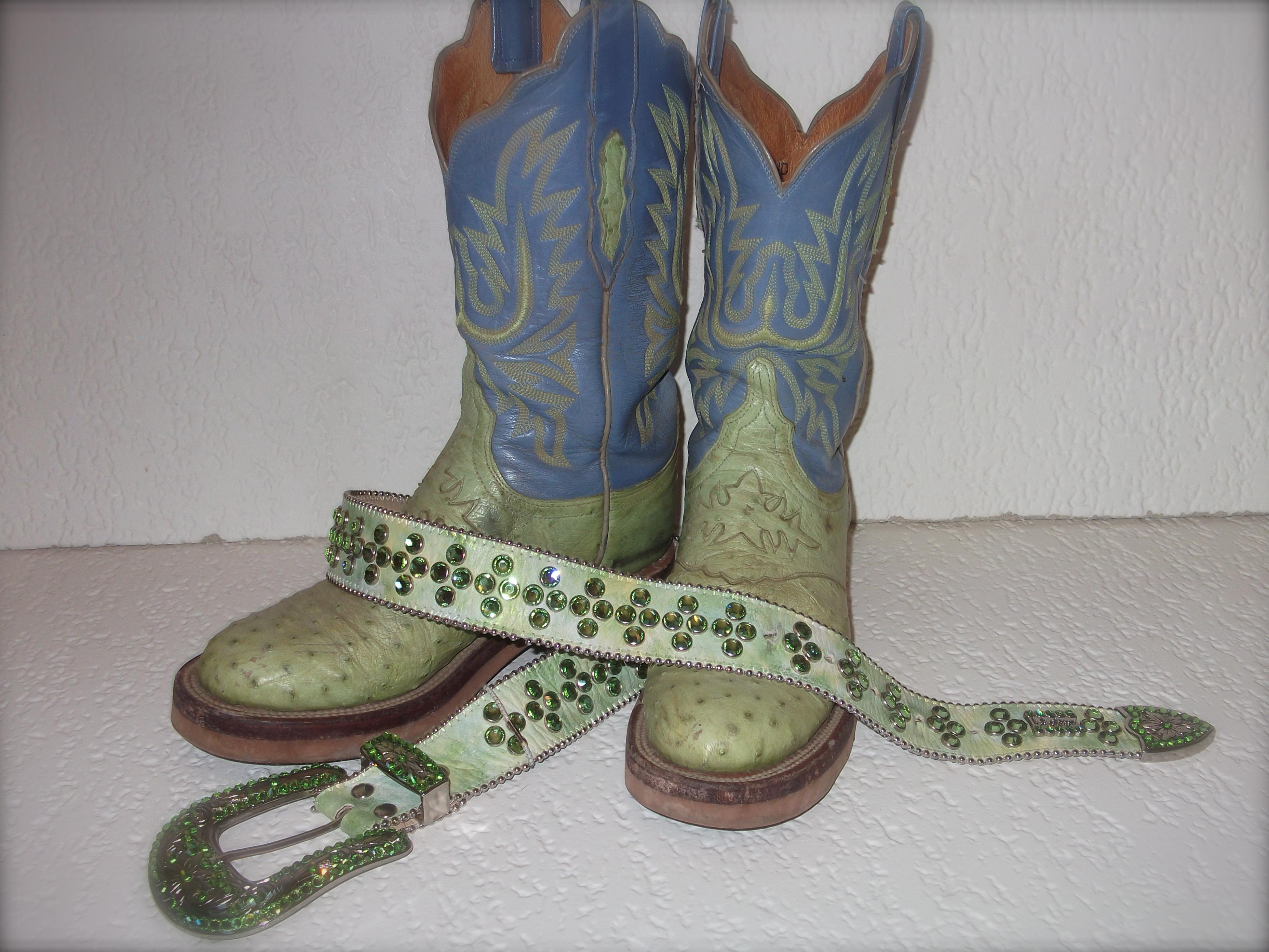 Pistachio Lucchese Cowboy Boots