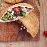 Greek Pita Pockets loaded with flavor