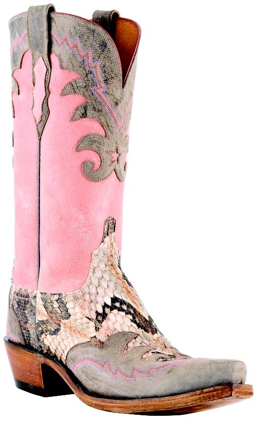 Lucchese 1883 Collection: Pink