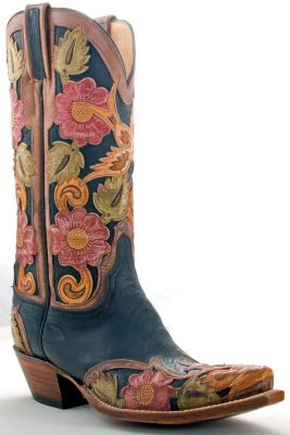 Hand Carved Lucchese Classics