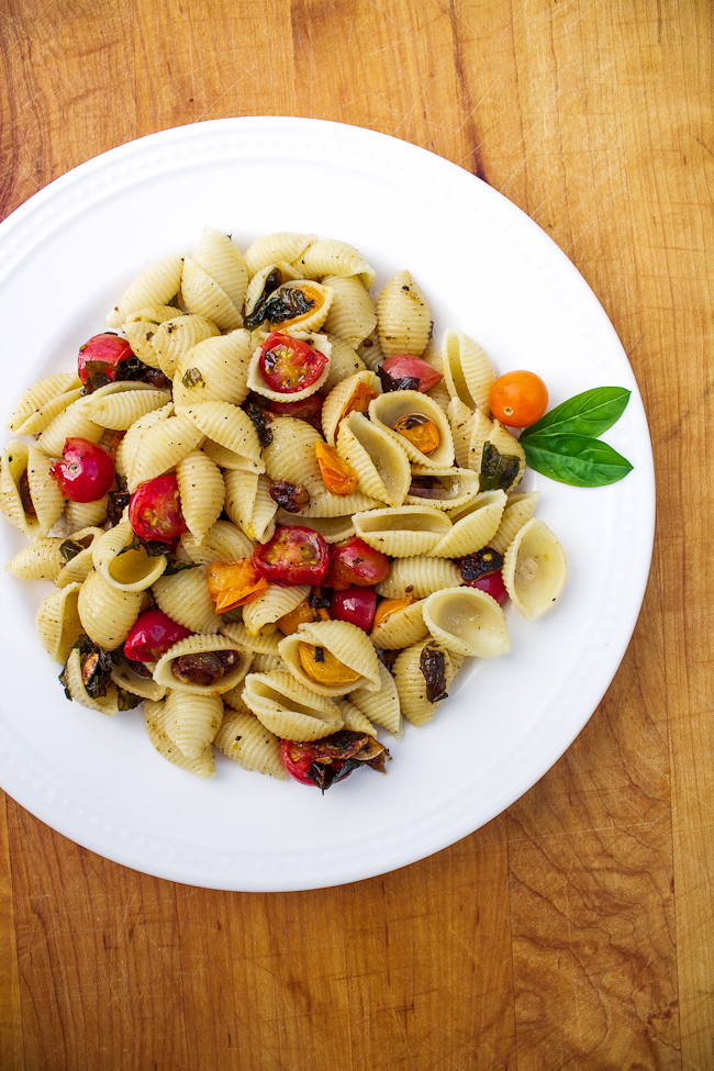 Simple Tomato Basil Pasta Recipe
