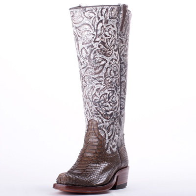 Rios of Mercedes cowboy boots in brown