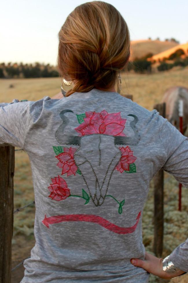 Rosita Skull Shirt by Wrangler