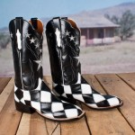 Lucchese Patchwork Boots