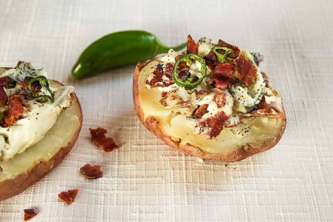 Bacon & Jalapeno Potatoe