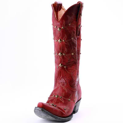 Red Old Gringo Cowboy Boots