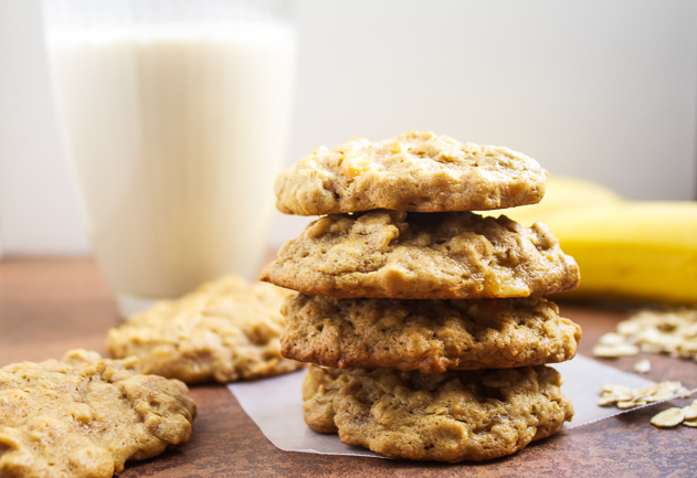 Oatmeal Peanut Butter Banana Cookie