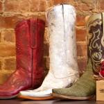 Christmas Cowboy Boots