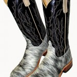 Anderson Bean Blue Roan Calf Top Boots
