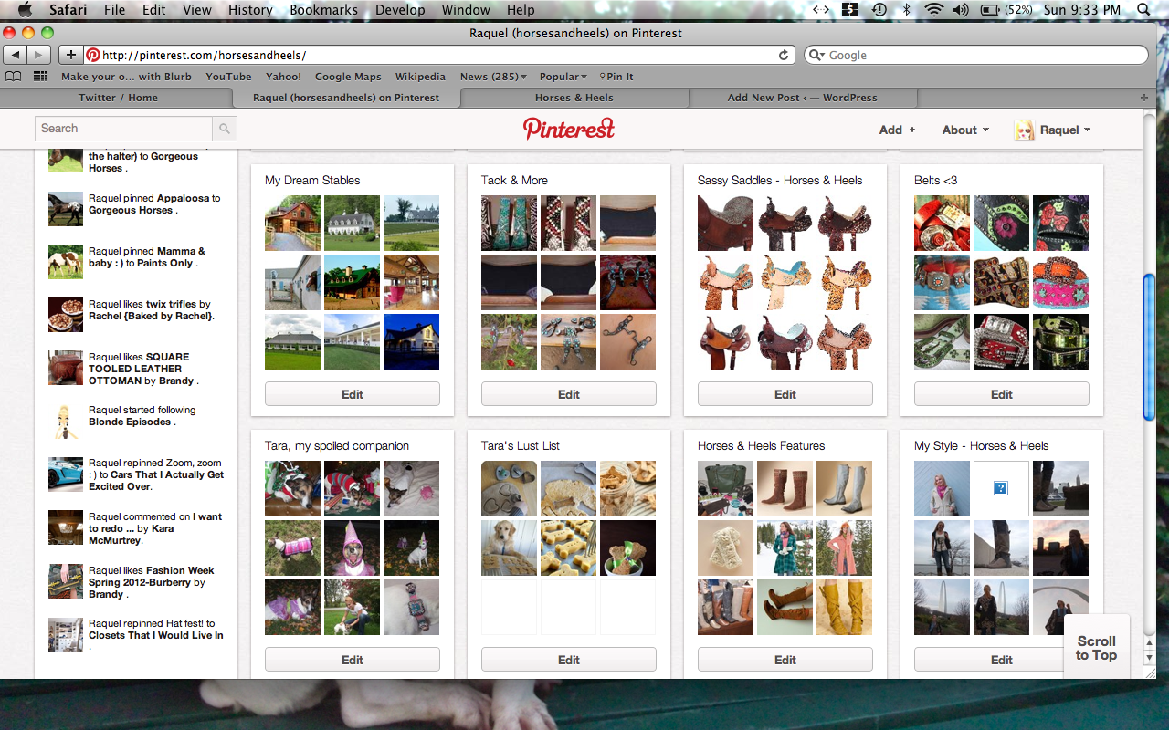 My Addiction with Pinterest