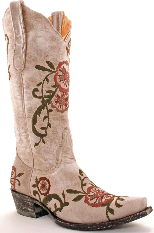 Old Gringo Tyler Volcano Bone Boots