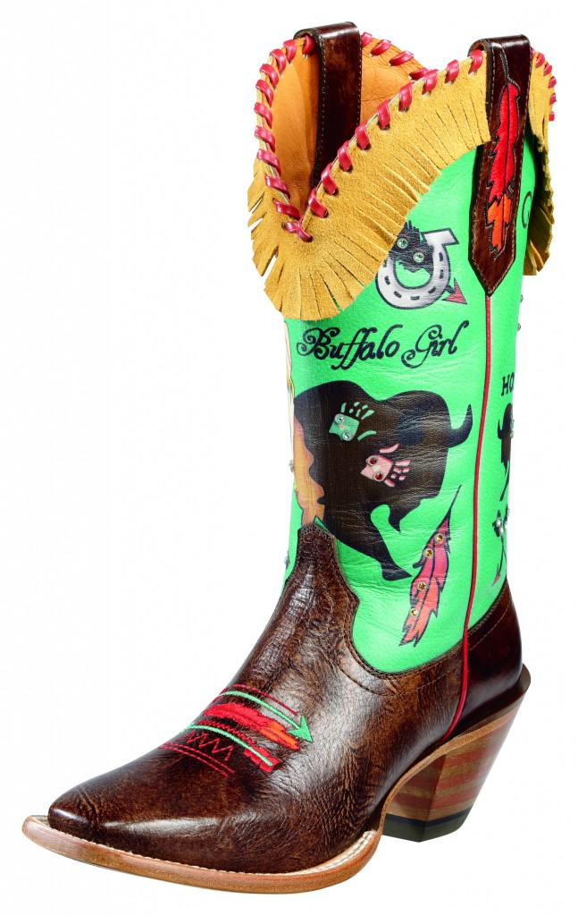 Buffalo Girl - Ariat's Quincy Collection