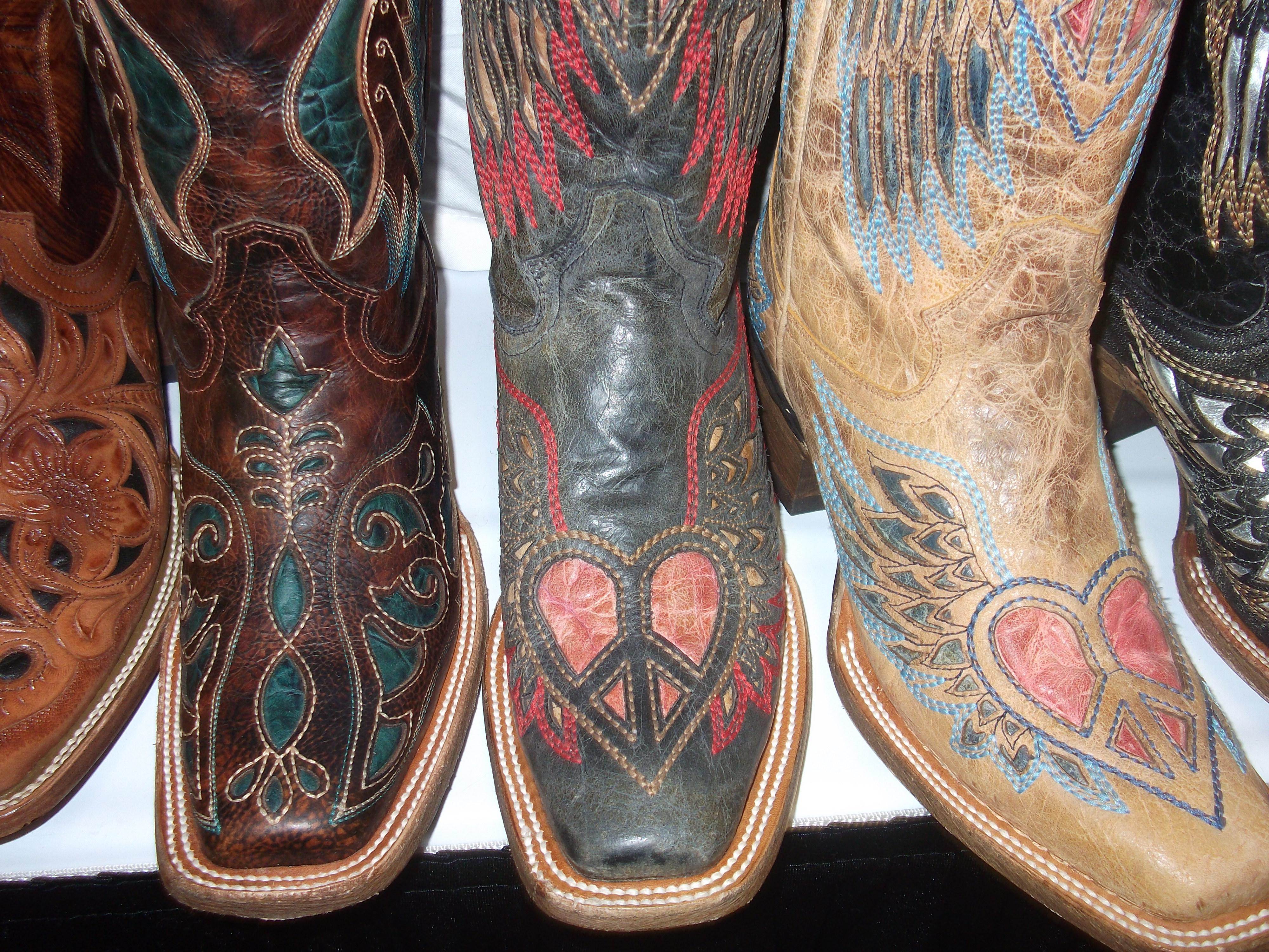 Corral Cowboy Boots at Denver Market | Horses & Heels
