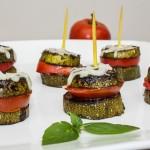 Tomato & Zucchini Towers