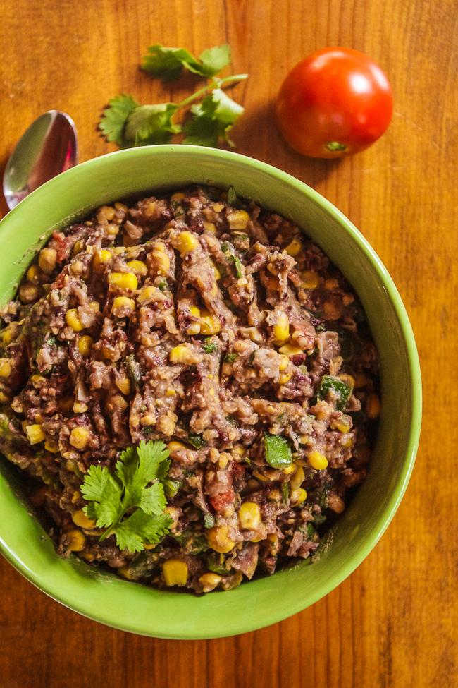 Black Bean & Chickpea Dip Recipe