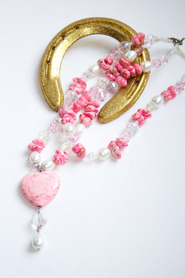 ewels of the Southwest Pink Necklace