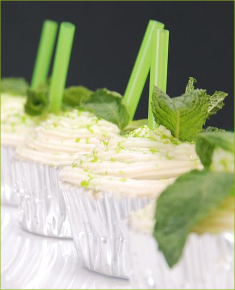 Mint Julep Cupcakes