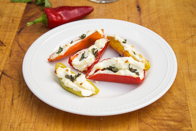 Stuffed Peppers with Goat Cheese