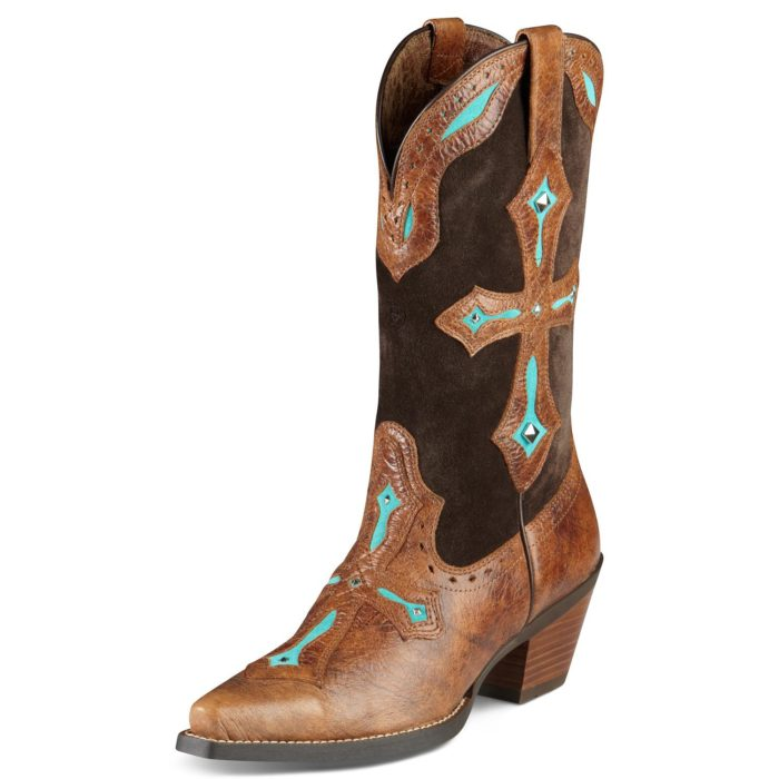 "Ariat's ""Heavenly"" cowgirl boot"