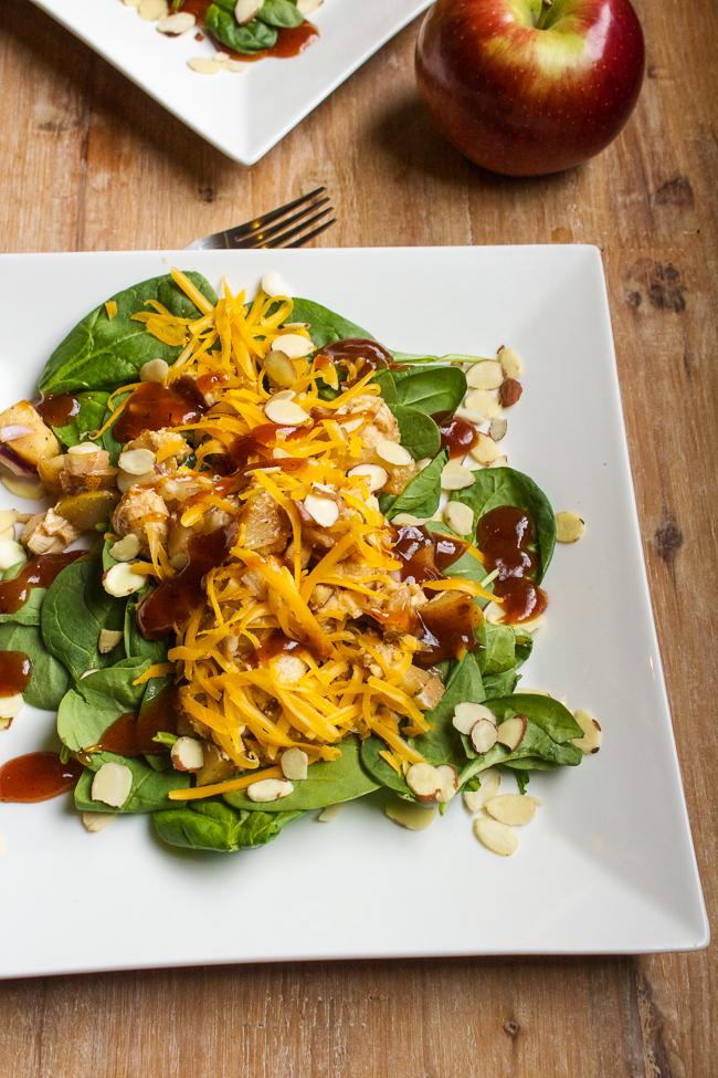 Apple-BBQ-Chicken-Salad-Recipe