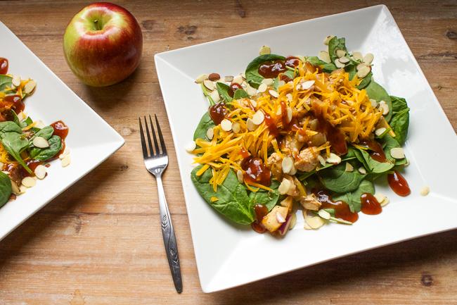 Apple BBQ Chicken Salad