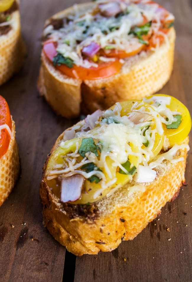 Grilled Bruschetta Recipes