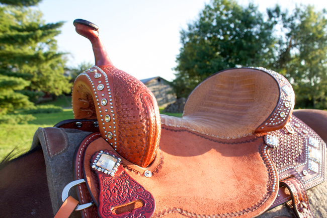 A New Double J Saddle