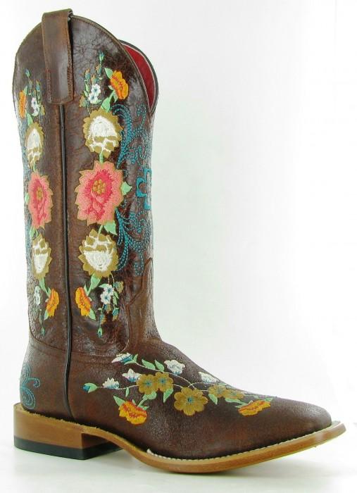 Macie Bean floral boot