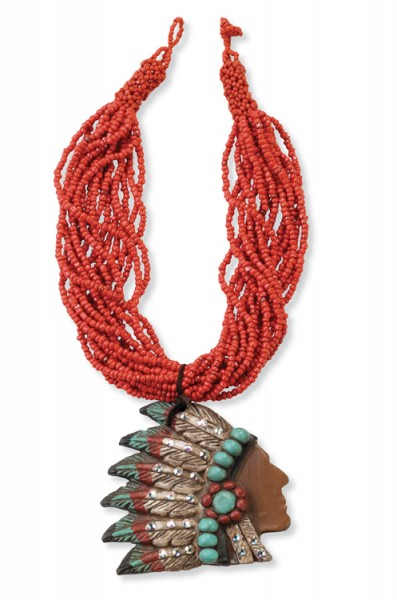 Big Chief Necklace | Crow's Nest Trading Co