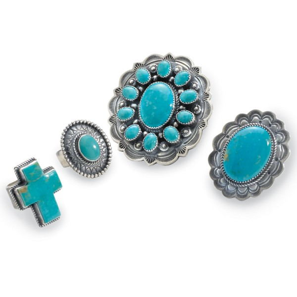 Turquoise rings | Crow's Nest Trading Co.