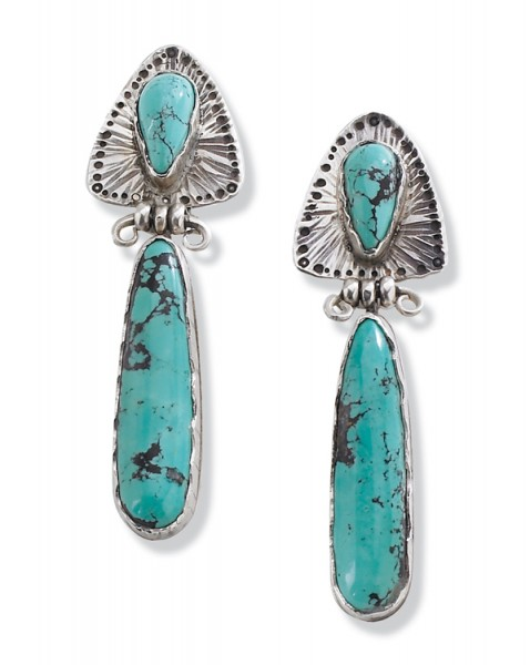Turquoise earrings | Crow's Nest Trading Co.