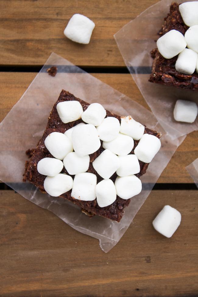 No Bake Marshmallow Bars Recipe