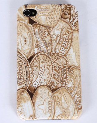 Gold Buckles iPhone Case