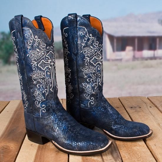 Python Print Lucchese Boots