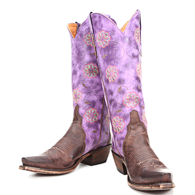 womens boots lucchese n9355 s54 chocolate purple 1 Search for Purple Cowboy Boots