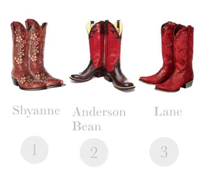 6 Amazing Red Cowboy Boots