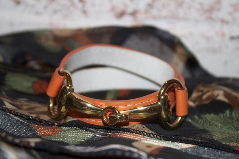 Derby Bracelet in Orange