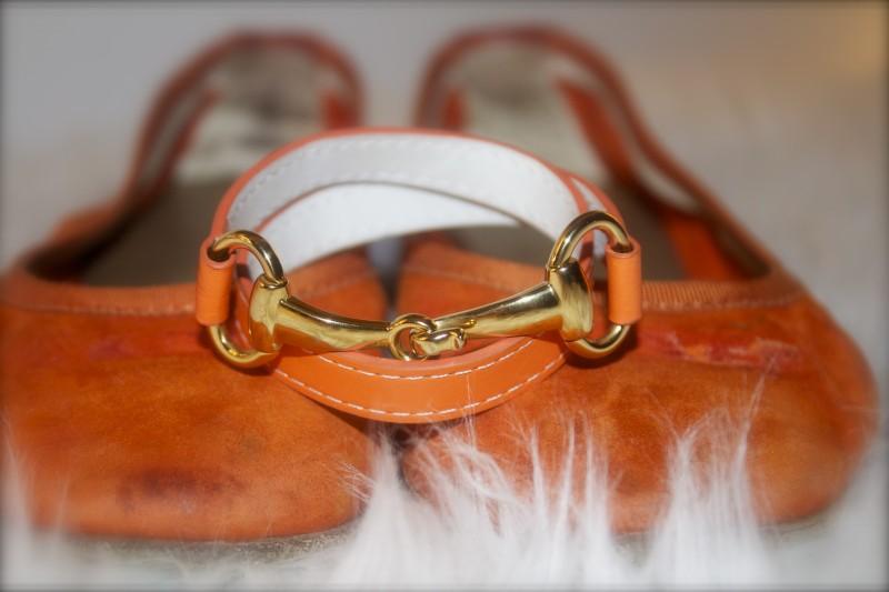 Orange Derby Bracelet