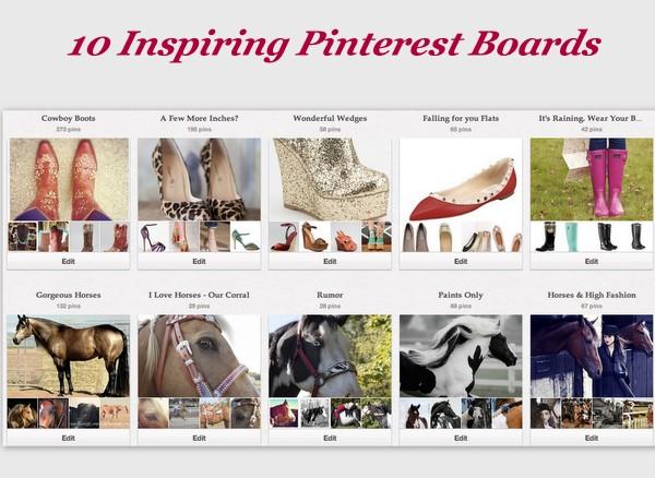 10 Pinterest Boards You Must Follow