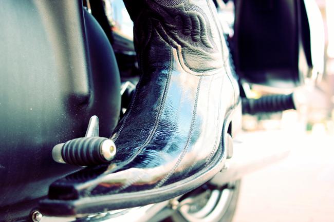 delaCav black cowboy boot