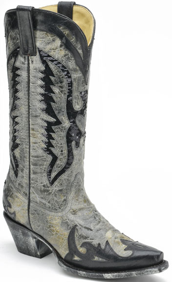 Corral Distressed Cowboy Boots with Sequins ~ 20% Off