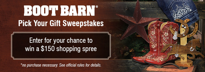 Boot Barn Giveaway