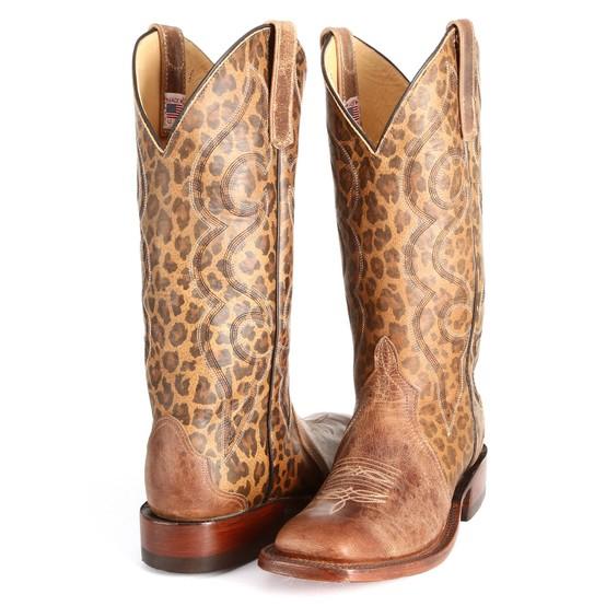 Anderson Bean Leopard Cowboy Boots