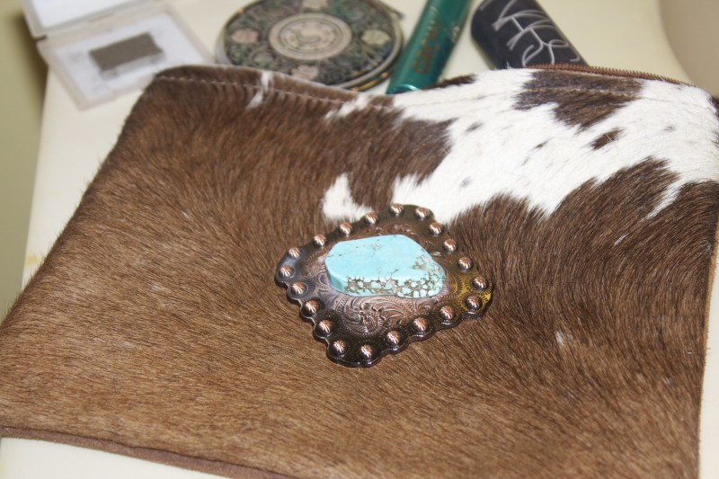 HaciendaCollection Cowhide Cosmetic bag