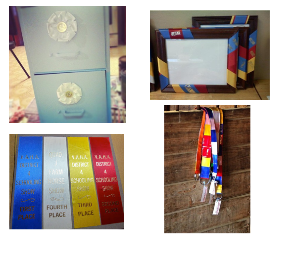 What to do with horse show ribbons